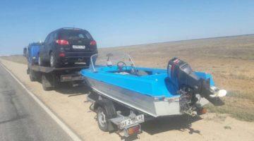 Эвакуатор Волгоград лодка на рыбалку автоцентр 34_автоцентр34
